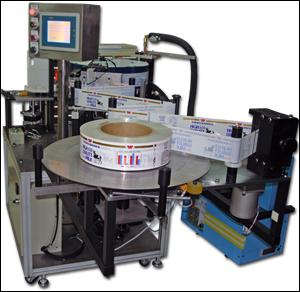 4 Litre square bottle of thermo-melt label machine.[ BOSB-4000 ]